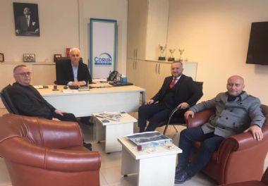 Çoruh EDAŞ Giresun İl Müdürü Sedat Akkoyun'u makamında ziyaret ettik
