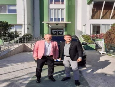 GİRESUNSPOR BAŞKANI HAKAN KARAAHMET'E ZİYARET