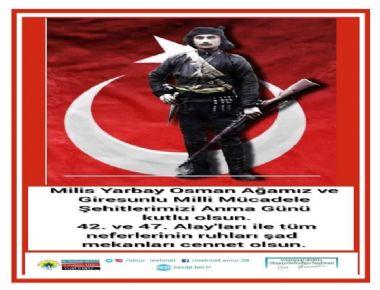 Topal Osman Ağayı vefatının 97. yılı