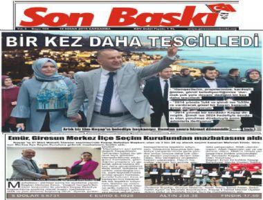 YEREL BASIN HABERLERİMİZ