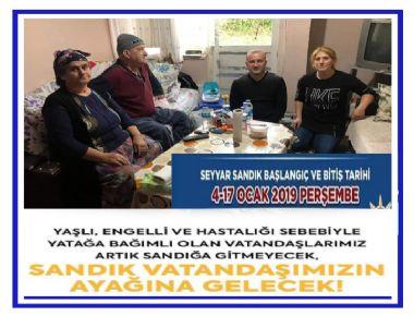 SANDIK EVE GELİYOR